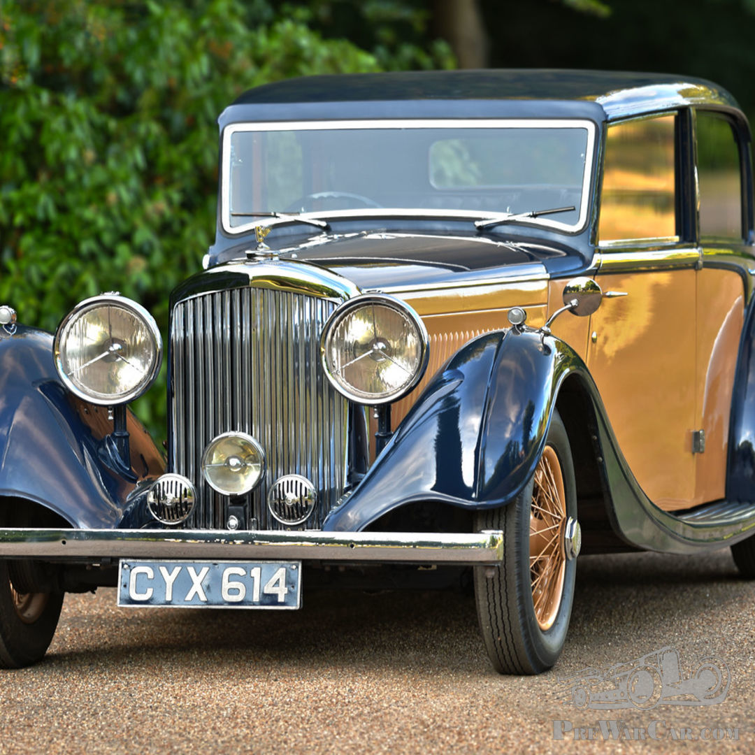 Car Bentley Derby 4¼-Litre Sports Saloon 1936 For Sale