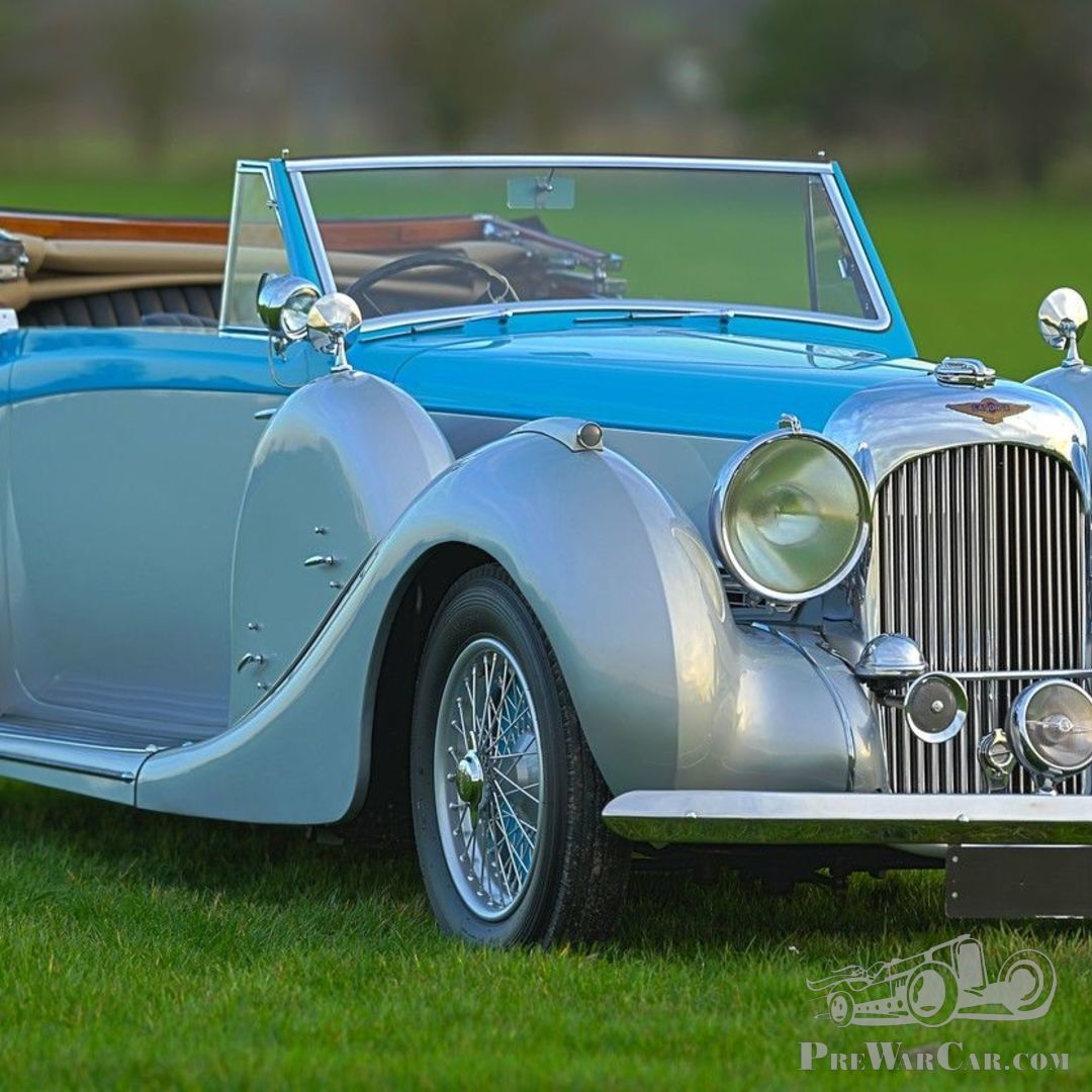 Car Lagonda V12 Drophead Coupé DHC 1939 For Sale