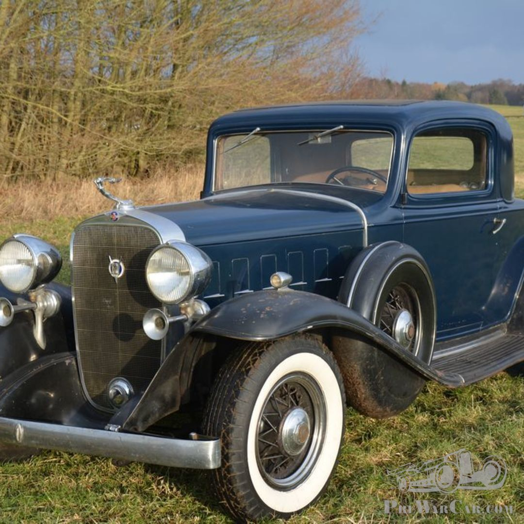 Car Cadillac V12 Business Coupe 1932 For Sale