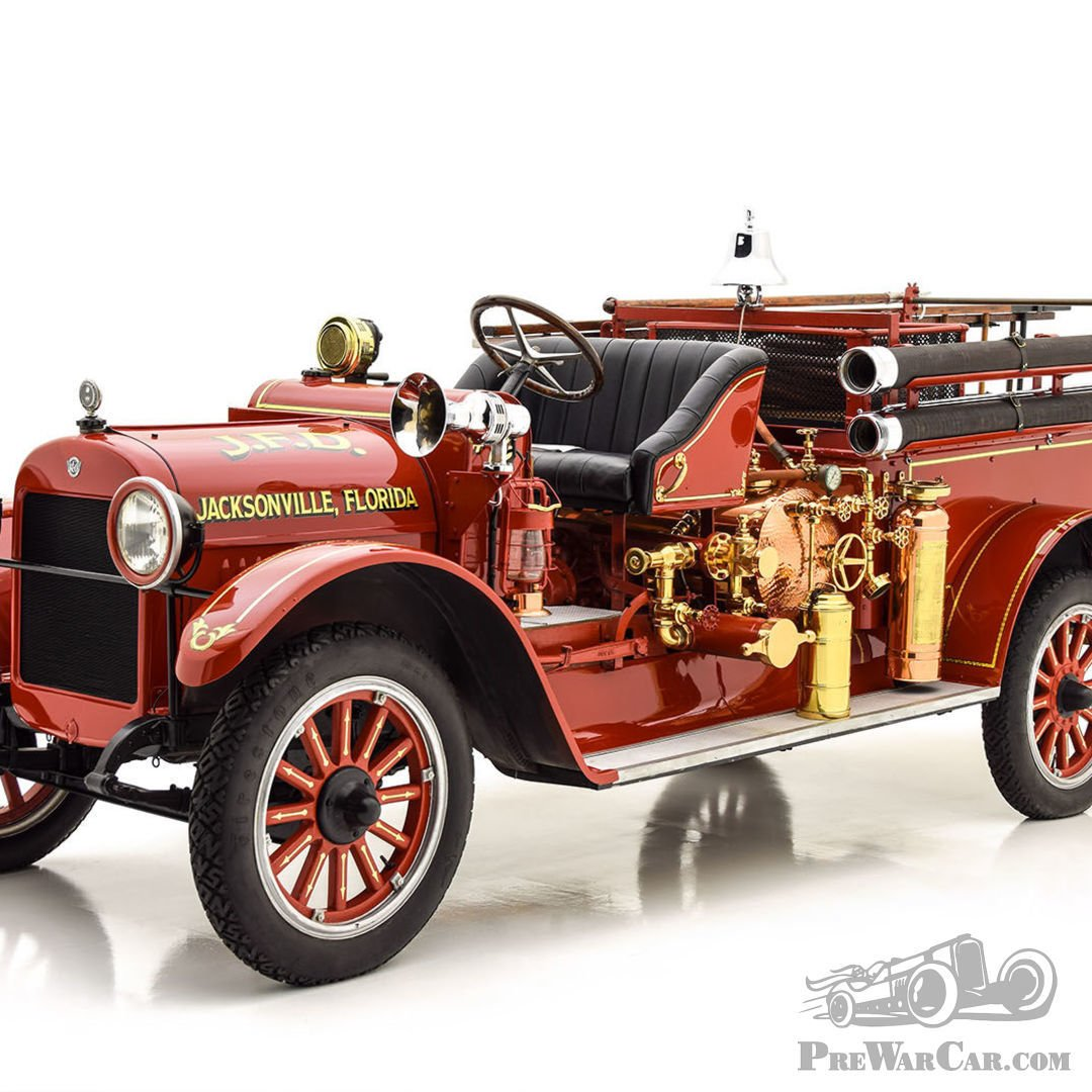 Car REO SPEEDWAGON FIRE TRUCK 1925 For Sale