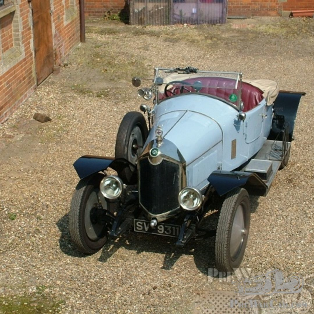 Car Crossley 19.6 Sports 1923 For Sale