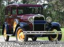 Ford 1930 Model A Seven Window Sedan