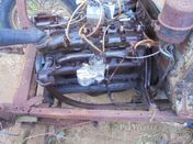 Standard Motor Company engine & gearbox for Standard
