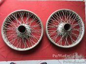 Rudge wheels / tyres ( & parts) for Rudge Whitworth
