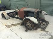 Mid 1920s Hupmobile R series open tourer project car