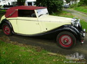 1939 SS-Jaguar 2 1/2 litre 6cylinder convertible