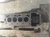 Fiat 509 engine block with gears