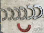 brake shoes for Fiat 509