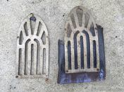 Pair of 1920s nickeled kickplates for a variety of cars