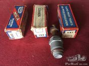 Three Prewar Mica Sparkplugs made by the Lissen Ltd Company