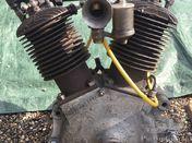 MAG 750 ioe engine Morgan Brough Hecker Triumph