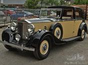 1937 Rolls Royce Phantom 3 Barker Razor Edge Sedanca