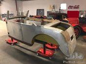 Bugatti Style Body , handbuild for a Faux Cabriolet