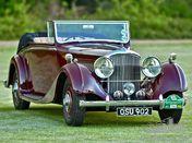 1938 Derby Bentley 4.25 MR Overdrive series Hooper DHC