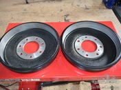 MERCEDES 320 290 BRAKE DRUMS NEW REPRODUCTION