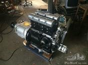 Riley 9 hp or 12/4 14/6 en 15/6 PreWar Alternator replacement for Rotax Dynamo.