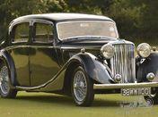 1938 SS 1 1/2 litre Jaguar Saloon
