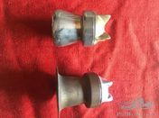 Model T Ford radiator caps with flanges 1917-1927