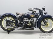 """1928 Henderson """"DeLuxe"""" 1305 cc side valve four cylinder"""