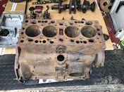 12/4 engine block and parts crank rods , sump etc