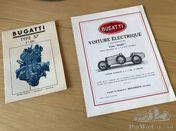 Original Bugatti brochures