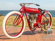1913 Indian Twin Board Track Racer
