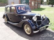 1937 Riley 12/4 Adelphi 4-door saloon