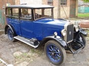 1929 Humber 9/28 saloon