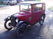 1929 Austin 7 RF fabric saloon