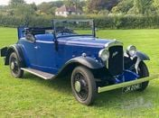 1935 Austin 12/4 Harrow - 2-Seater Tourer with Dickey