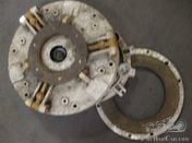 An MG L/K DOUBLE PLATE CLUTCH ASSEMBLY