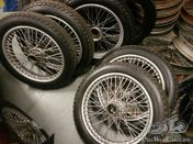 LARGE BATCH OF MG MMM & T TYPE ROAD WHEELS & BRAND NEW TYRES (Separate)
