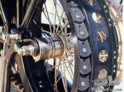 V-belt pre-war motorcycle or car