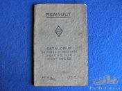Renault KZ 5 Parts Book