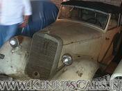 Barn Find Mercedes-Benz 170 VB Convertible 1943