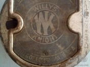 Hub center for 1920s Willys Knight