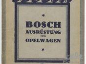 Opel Wagen Bosch