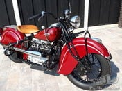 Indian 4 cylinder 1265 cc DDO 1940