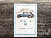 Skoda 4R brochure - German