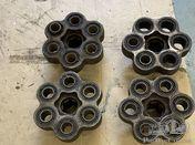 Alfa Romeo 6C 2500: 4 drive shaft couplings, female side