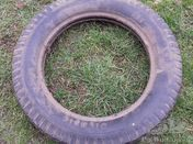 Olympic vintage balloon tyre 6.00x22 inches