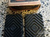 Original 1920/30 slip-on pedal pads for American cars