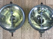 Pair matching Marchal 230mm headlamps