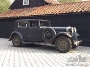 1934 Talbot AW75 Sports Saloon Project