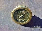 Pre-war speedometer O.S.