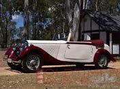 1934 Bentley 3.5 Litre Park Ward Drophead Coupe