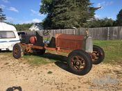 1921 American LaFrance Speedster Project