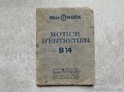 Citroen B14 user's manual