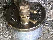 Rare large Tecalemit large fuel filter