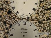 20 x Jaeger Paris dial 8 jours with Roman numerals